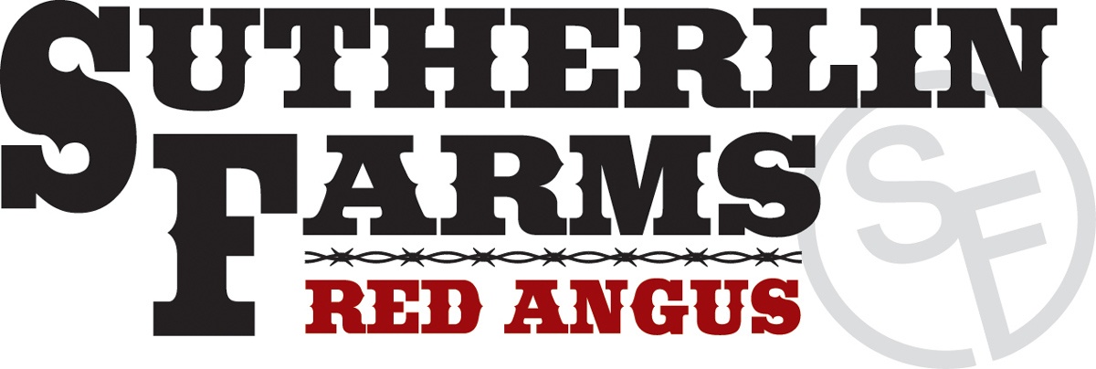 Sutherlin Farms Red Angus Logo